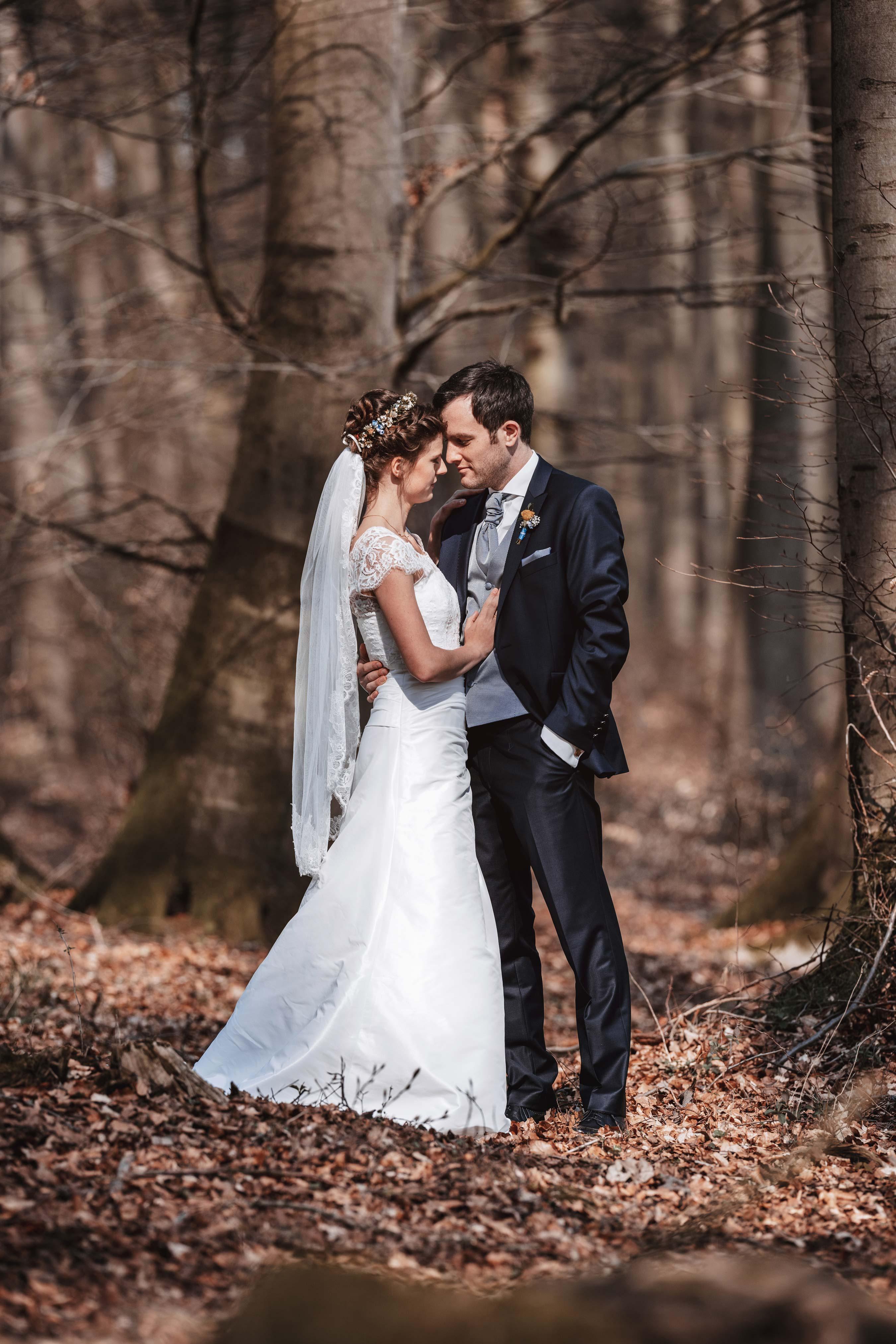 Natürliche Hochzeitsfotos in Melle bei Osnabrück