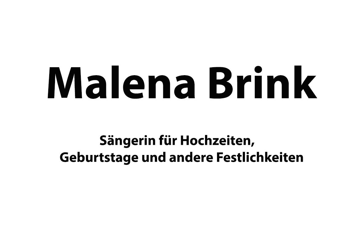 Malena Brink-Hochzeitssängerin